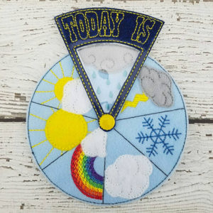 Felt Weather Wheel - Gifts for Kids