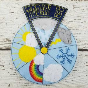 Felt Weather Wheel - Gifts for Kids