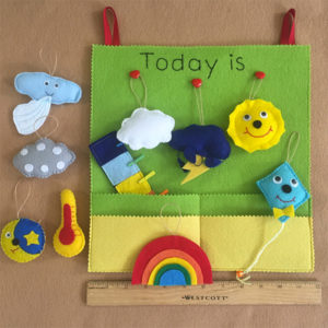 Daily Weather Board - Weather Gifts for Kids