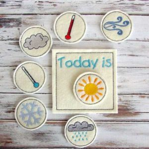 Kids' Daily Weather Chart